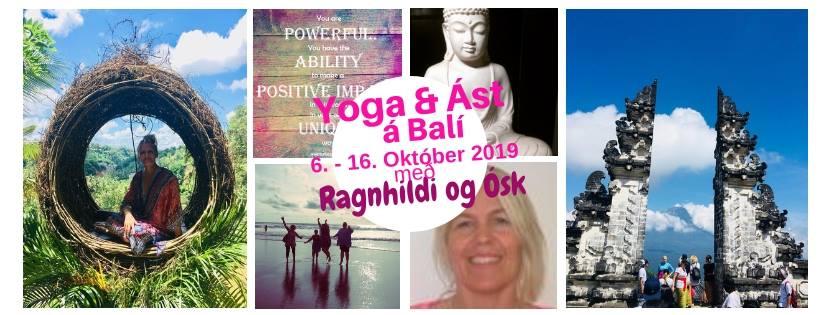Yoga & Ást á Bali.