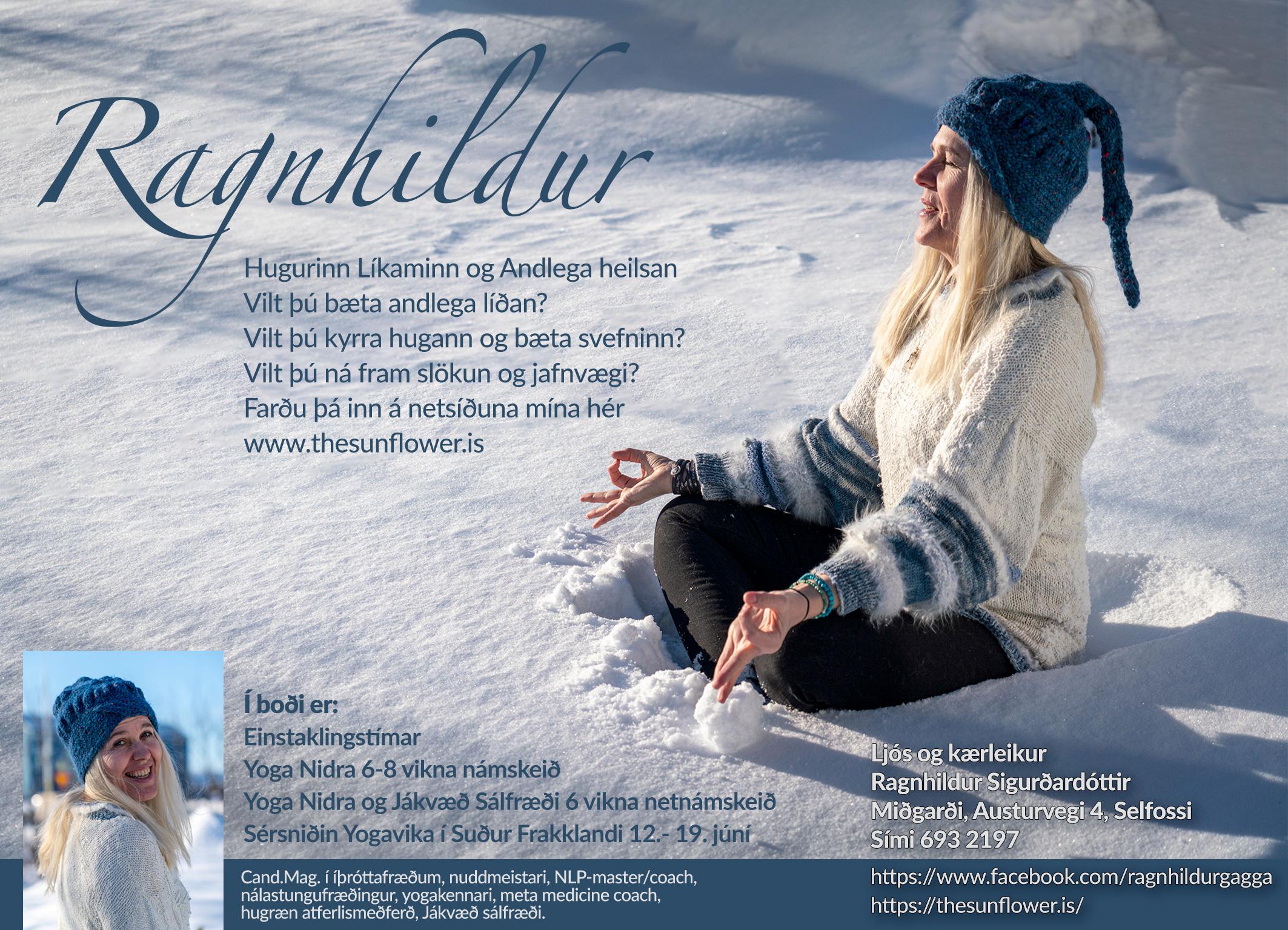 Hugurinn, Líkaminn og Andlega heilsan – kynningarnámskeið